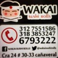 WAKAI SUSHI ROLLS     S.A.S