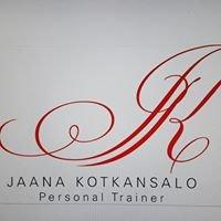 Valmentaja Jaana Kotkansalo