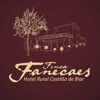 Hotel Rural Castillo de Biar en Finca Fanecaes