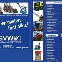 GVW Geräteverleih WETTERAU