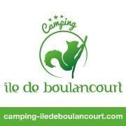 Camping Ile de Boulancourt Fontainebleau climbing cottage