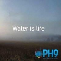 PH9 Filter free Generator Bottle and PH9 Aqua