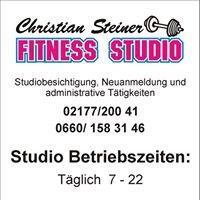 Christian Steiner Fitnessstudio