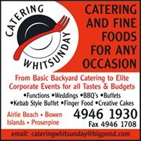 Catering Whitsunday