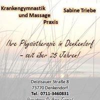 Krankengymnastik und Massage Praxis - Sabine Triebe