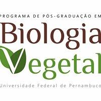 Programa de Pós Graduação em Biologia Vegetal UFPE