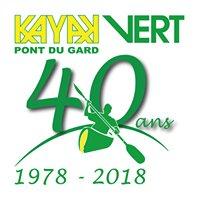 Canoe Kayak Vert Pont du Gard