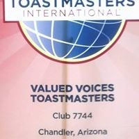 Valued Voices Toastmasters