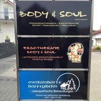 BODY & SOUL Physiotherapie/Ergotherapie/Sport/Gesundheit/Wellness