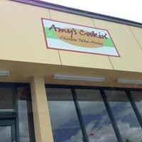 Amy's cookin Chinese take-away shop