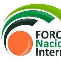 FORO Nacional Internacional