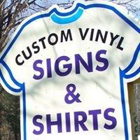 Custom Vinyl Signs and Shirts
