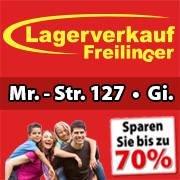 Lagerverkauf Freilinger