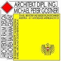 Architekt D.I. Michael Peter Gostner