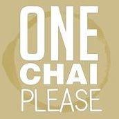 One Chai Please