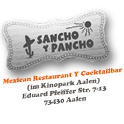 Sancho y Pancho -Mexican Restaurant y Cocktailbar