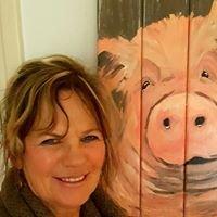 Schilderworkshops Caroline Hallink