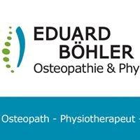 Boehler Praxis für Osteopathie Physiotherapie Naturheilkunde