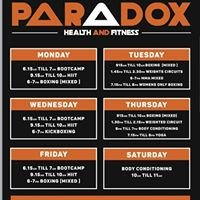 Paradox health and fitness