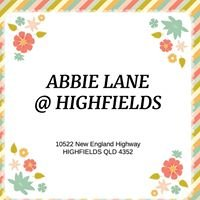 ABBIE LANE at Highfields