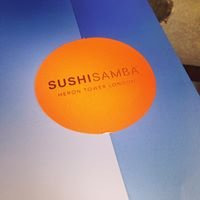 Sushi Samba Terrace Bar 39 Floors Up!