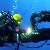 Scuba Diver Welder