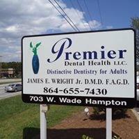 Dr. James Wright Jr. - Premier Dental Health LLC