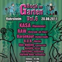 Rock im Garten