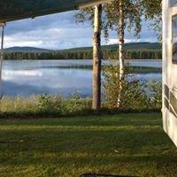 Trollforsen camping stugor husbilar pizzeria, Gargnäs, Lappland, Schweden