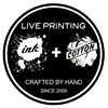 Ink+Cotton Live Screen Printing