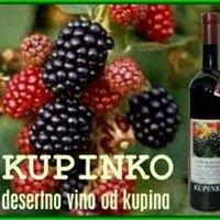 Kupinovo vino - Kupinko - OPG Radovan Črnčec