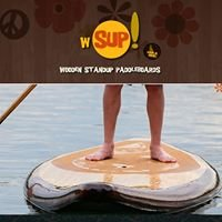 wSUP Wooden Standup Paddle-boards