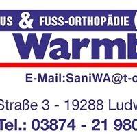 Sanitätshaus & Fußorthopädie Warmbier