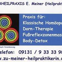 Naturheilpraxis für Klassische Homöopathie und Dornmethode in Erlangen