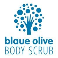 Blaue Olive Body Scrub