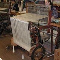 Ingrid's custom hand woven rugs