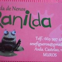 Ranilda, tenda de nenos