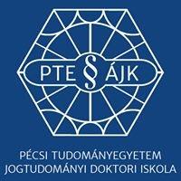 Pécsi Tudományegyetem Jogtudományi Doktori Iskola