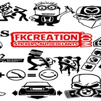 FK Creation : Sticker Lettrage autocollant