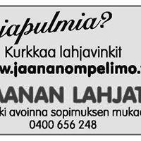 Jaanan Ompelimo ja Asuste ky / Jaanan Lahjat