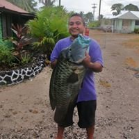 Fishing Savaii,   Samoa at Va-i-Moana Seaside Lodge
