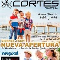Cortes textil-deporte