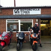 GS Motorcycle Tyres & The Bike Base workshop