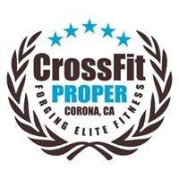 CrossFit Proper, Corona CA