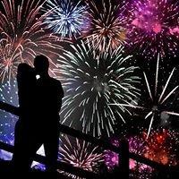Scottish Wedding Fireworks
