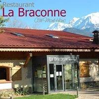 Restaurant La Braconne côté Mont-Blanc, Sallanches