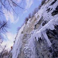 Cava Alta, falesia dry-ghiaccio