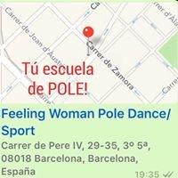 Feeling Woman Pole Dance-Sport