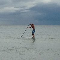 J-Boards Standup Paddleboard Rentals at Muskegon's Pere Marquette Beach