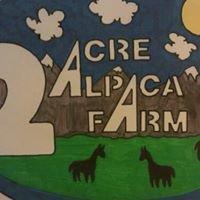 2 Acre Alpaca Farm